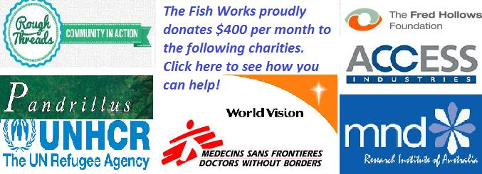 charities supported by the fish works