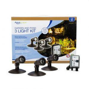 Aquascape Light Kit LED 12 volt 3 x 1- watt Bullet w/transformer