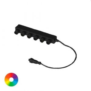 Aquascape 6-Way Colour-Changing Splitter