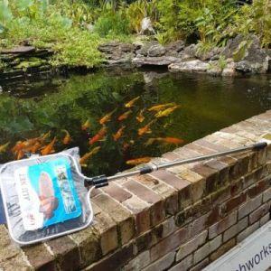 koi net and fish pond net 35cm