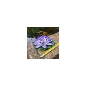 Large purple floating water lily 280mm