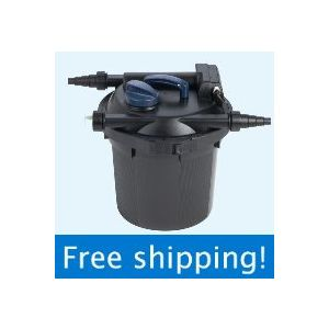 OASE Filtoclear 6000 UV fish pond filter