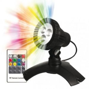 PondMAX 3 LED Multi Colour Pond/Garden Light (with Remote Control)